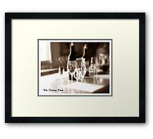 The Tasting Room Framed Print
