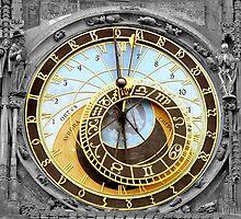 Astronomical Clock by Joe  Burns