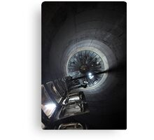 Inside Looking Up  - Hershey, PA Canvas Print