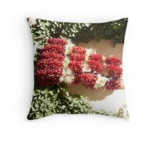 Red Chilli Peppers. Throw Pillow
