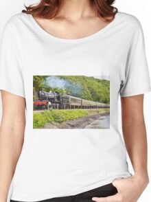 river side railway Women's Relaxed Fit T-Shirt