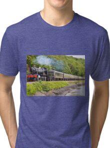 river side railway Tri-blend T-Shirt