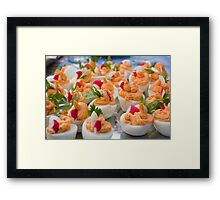 Easter eggs Framed Print