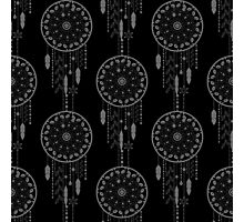 Seamless vector illustration with dream catchers Photographic Print