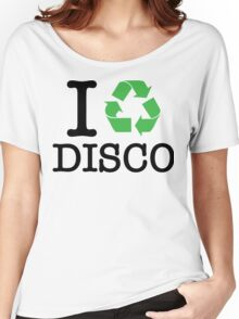 I Recycle Disco Women's Relaxed Fit T-Shirt