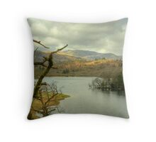 Rydal Water in March Throw Pillow