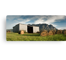 Hayshed on the Hill # 3 Canvas Print