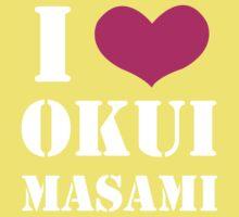 I Heart Okui Masami in White Kids Clothes