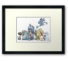 Horde (2) Framed Print