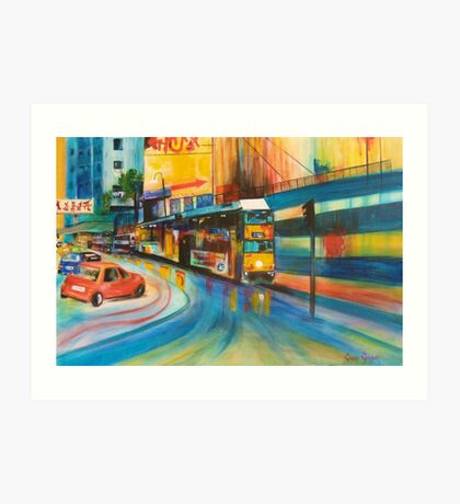 Centrepoint, Rained Out Art Print