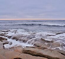 La Jolla sunset CALIFORNIA by CaptureLight