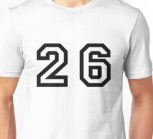 Twenty Six Unisex T-Shirt