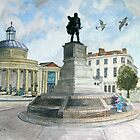 """Pointing Home"" - The Cornhill, Bridgwater, Somerset by Timothy Smith"