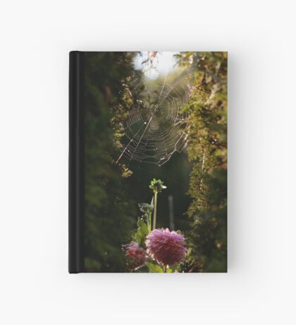 The Spider and the Dahlia Hardcover Journal
