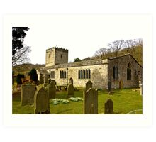 Hubberholme Church Art Print