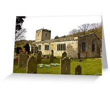 Hubberholme Church Greeting Card