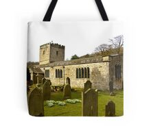 Hubberholme Church Tote Bag
