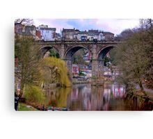 Knaresborough Viaduct #2 Canvas Print