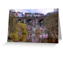 Knaresborough Viaduct #2 Greeting Card