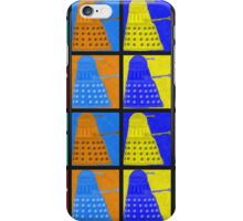 Pop art Daleks - variant 2 iPhone Case/Skin
