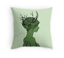 Forest Fae Throw Pillow