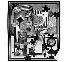 Factory Worker 1 Piece Jigsaw (with Jesus.) Poster