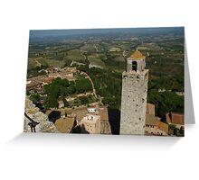 San Gimignano and Tuscany Greeting Card