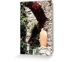Pottery Gate Greeting Card
