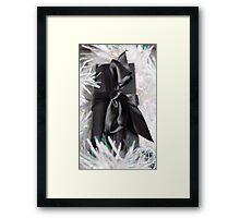 A Sparkly present Framed Print