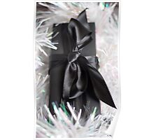 A Sparkly present Poster