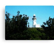 Lighthouse Painting Canvas Print