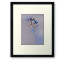 """Der Traum"" Pastel Pencil Artwork Framed Print"