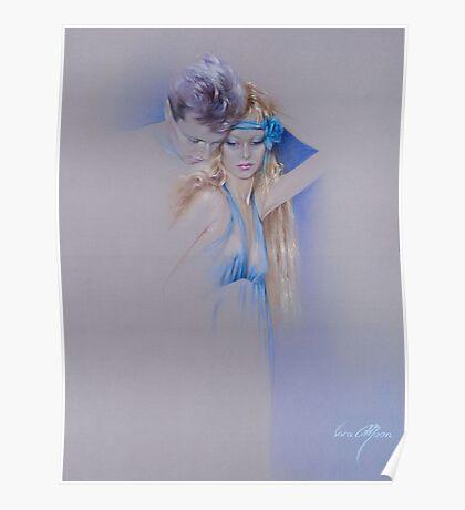 """""""Der Traum"""" Pastel Pencil Artwork Poster"""