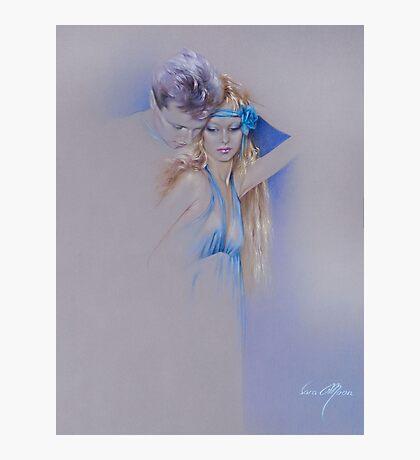 """Der Traum"" Pastel Pencil Artwork Photographic Print"