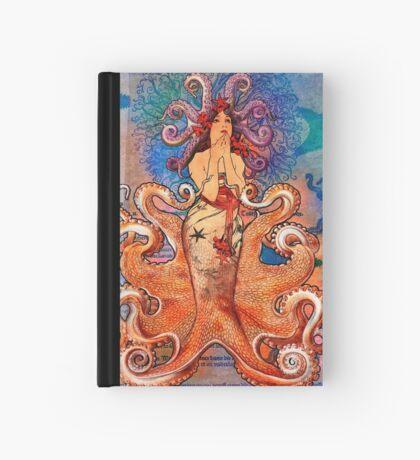 Cephalod Girl Hardcover Journal