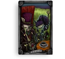 The Bad Hatter Canvas Print