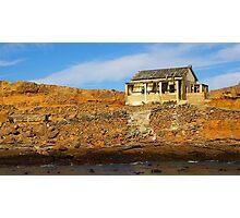 Deserted house on Halifax island Photographic Print