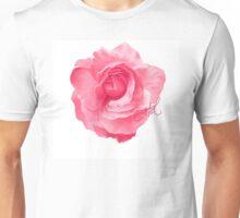 Pink Rose Unisex T-Shirt