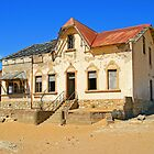 House in ghost town of Kolmanskuppe by Rudi Venter