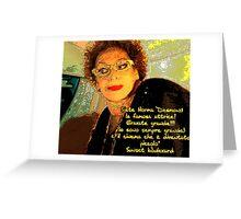 SunsetBoulevard Greeting Card