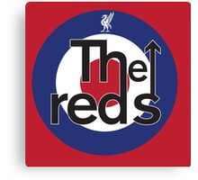 The Reds - Liverpool FC Mods Canvas Print
