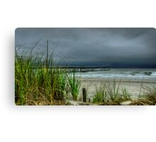 AN AUGUST STORM  Canvas Print