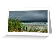 AN AUGUST STORM  Greeting Card