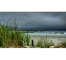 AN AUGUST STORM  Photographic Print