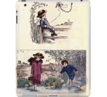 The Little Folks Painting book by George Weatherly and Kate Greenaway 0187 iPad Case/Skin