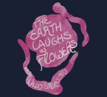 The Earth Laughs in Flowers Kids Tee