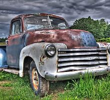 Old Chevy Pickup by Thom Zehrfeld