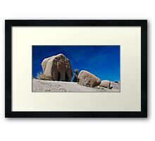Jumbo Rocks 1 Framed Print