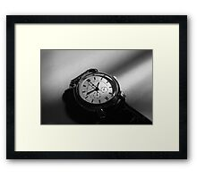The power of now  Framed Print