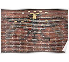 Beautiful brick - Dual-headed eagle Poster